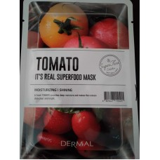 DERMAL it's real superfood mask (tomato)