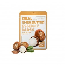 FarmStay Тканевая маска для лица с маслом ши Real Shea Butter Essence Mask, 23 мл