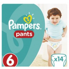 PAMPERS Pants Extra Large (15+ кг) 14 шт