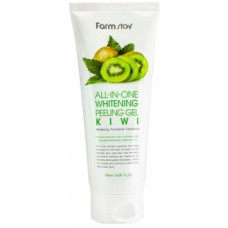 FARM STAY ALL-IN-ONE WHITENING PEELING GEL KIWI 180МЛ ПИЛИНГ ФАРМ СТЭЙ ГЕЛЬ С ЭКСТРАКТОМ КИВИ 180МЛ